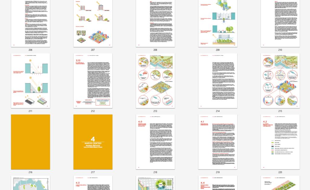 Imagen de algunas páginas del Plan